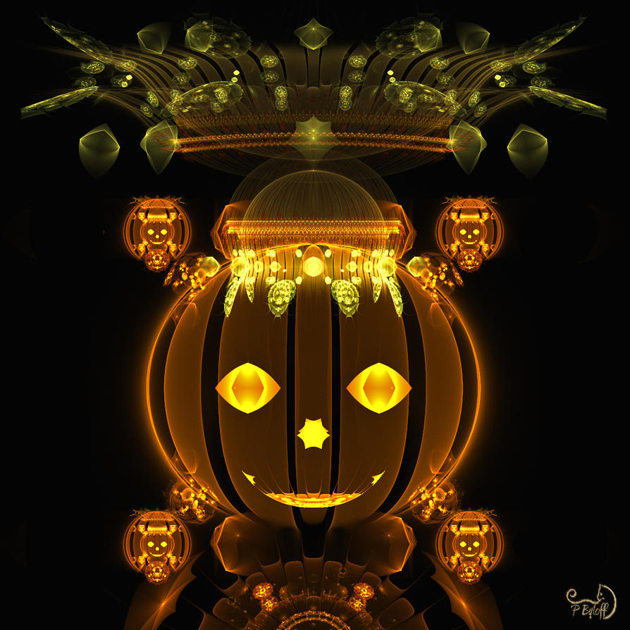The Pumpkin King by Kabuchan