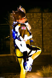 Cosplay Tracer 's Overwatch