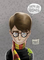 Harry Potter and the shitty hallows by LorenzoSabia