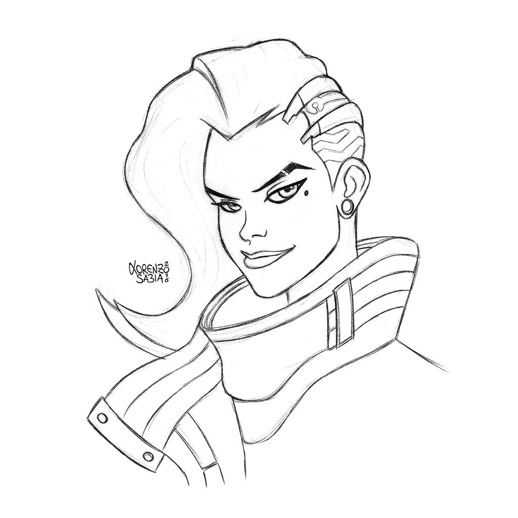 how to draw overwatch characters