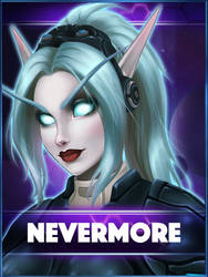 Nevermore Badge by Fynara