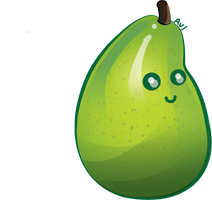 Vector Pear by aviluff