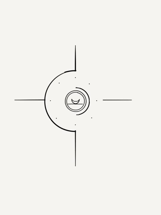 Minimalist compass tattoo design by bunnysartblog on for Minimal art tattoo