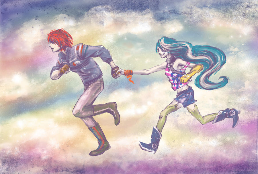 you can run away with me... by RaetElgnis