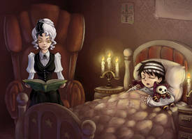 Bedtime Story by RaetElgnis