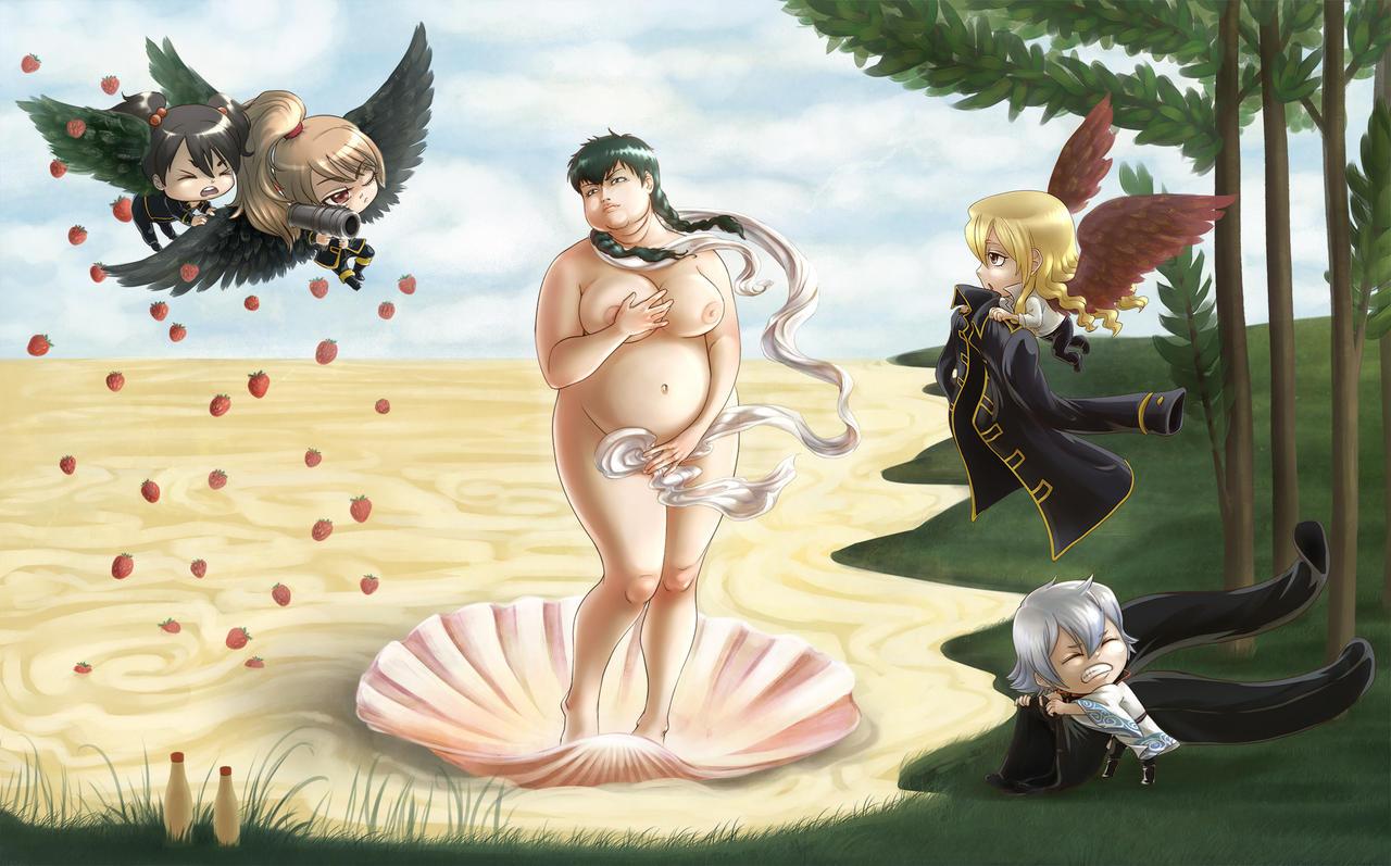 Gintama Venus by RaetElgnis