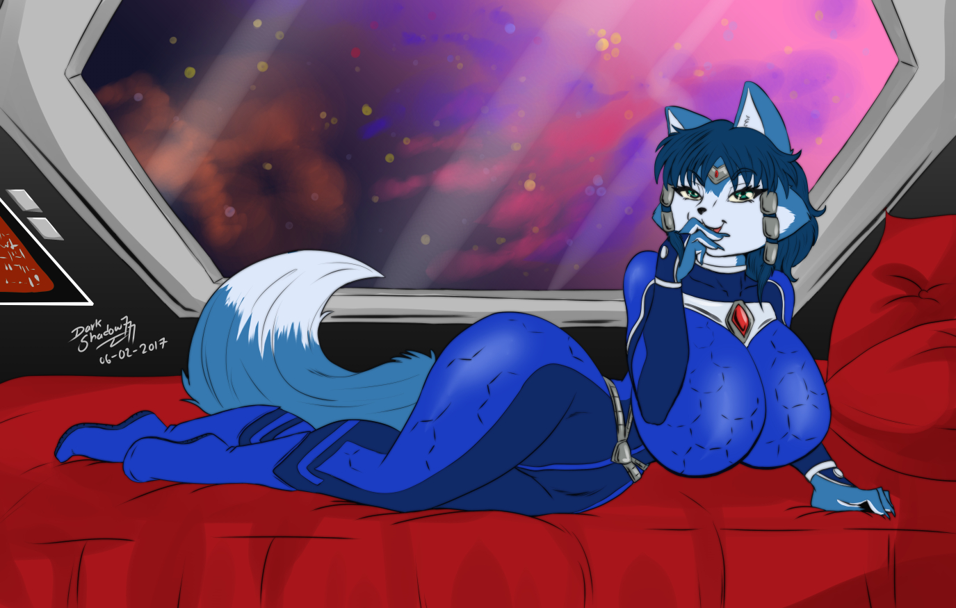 [Commission] Space Vixen by DarkShadow7777