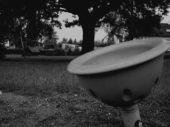A desolate park by RoxaDragonsoul