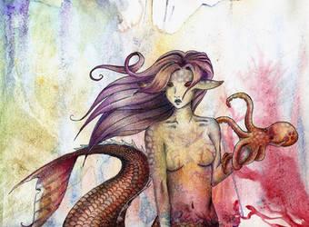 Mermaid Concept by Rhi-R
