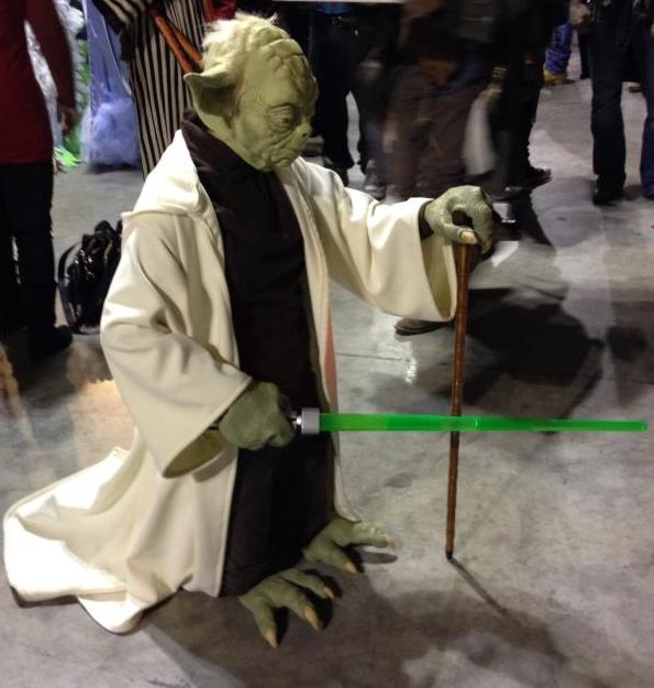 Yoda Cosplay by AleDiri