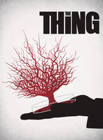 The Thing minimalist poster by AshtonPerson