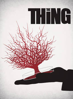 The Thing minimalist poster