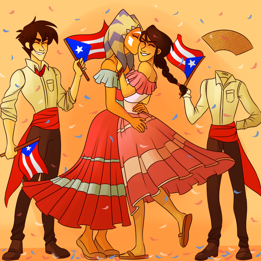 C Happy Discovery Of Puerto Rico Day By Makeupaname On Deviantart