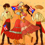 [C] Happy Discovery of Puerto Rico Day by makeupaname