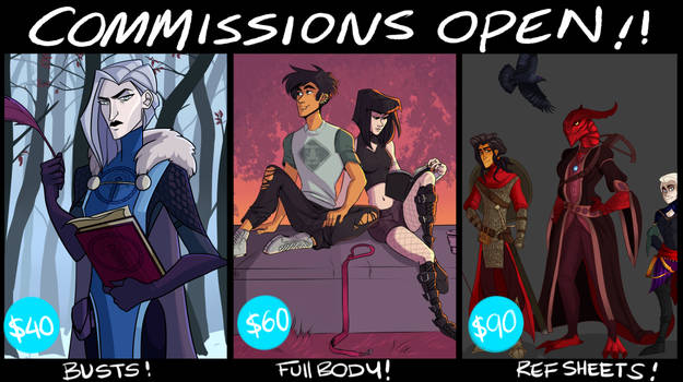 COMMISSIONS OPEN!!