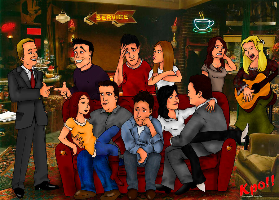 Friends Or How I Met Your Mother Yahoo : How i met your friends by kpo on deviantart