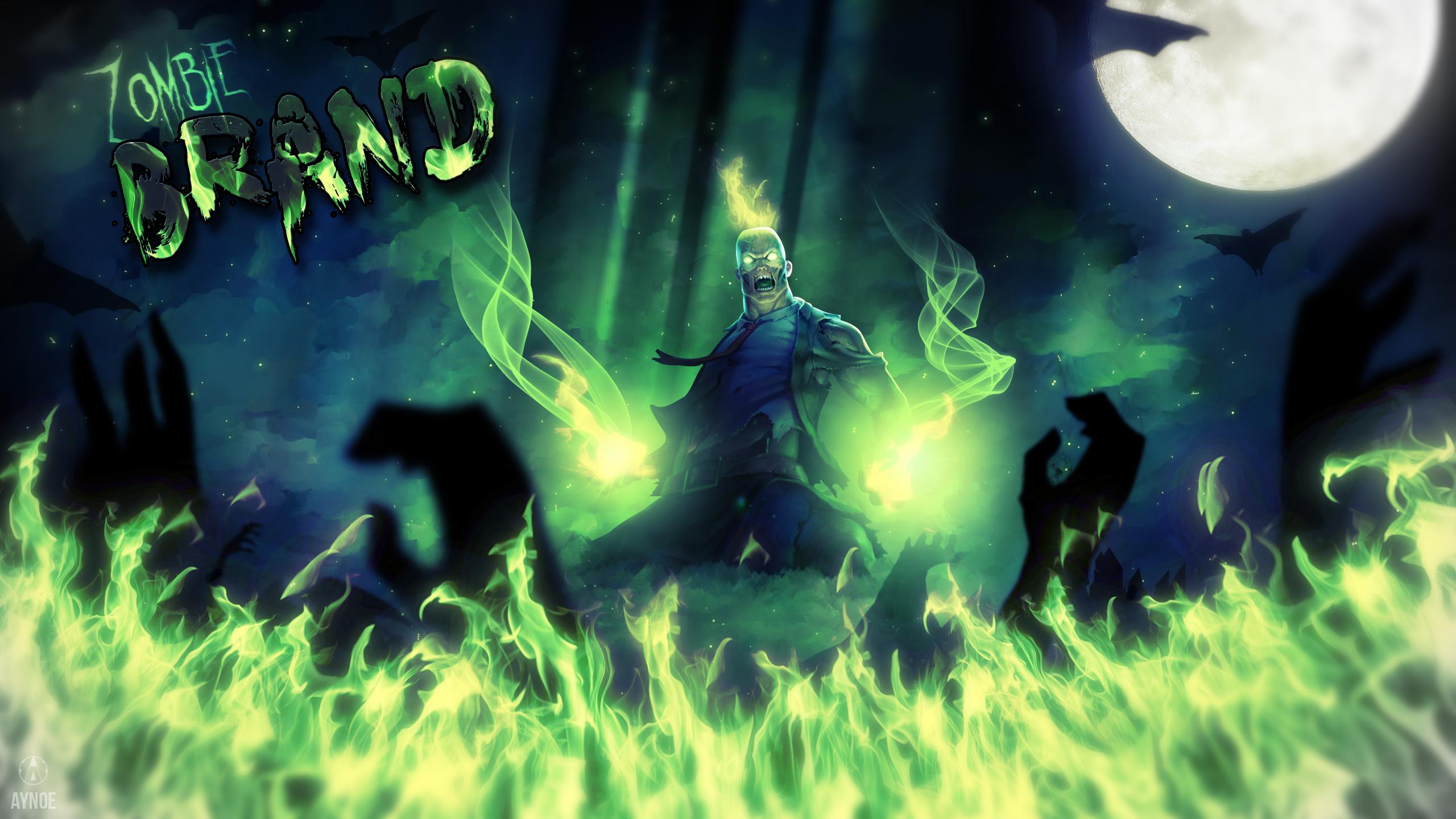 Wallpaper HD - Zombie Brand - League of Legends by Aynoe ...