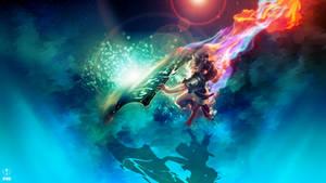 Riven ~ League of legends - Wallpaper