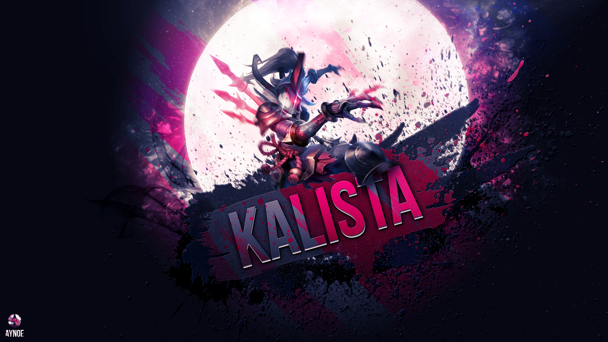 Kalista League Of Legends Minimalist Wallpaper By: Wallpaper By Aynoe On DeviantArt