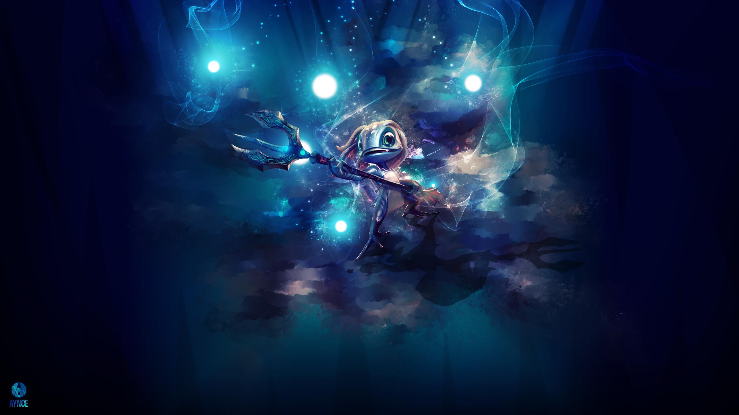 Fizz ~ League of legends - Wallpaper by Aynoe on DeviantArt