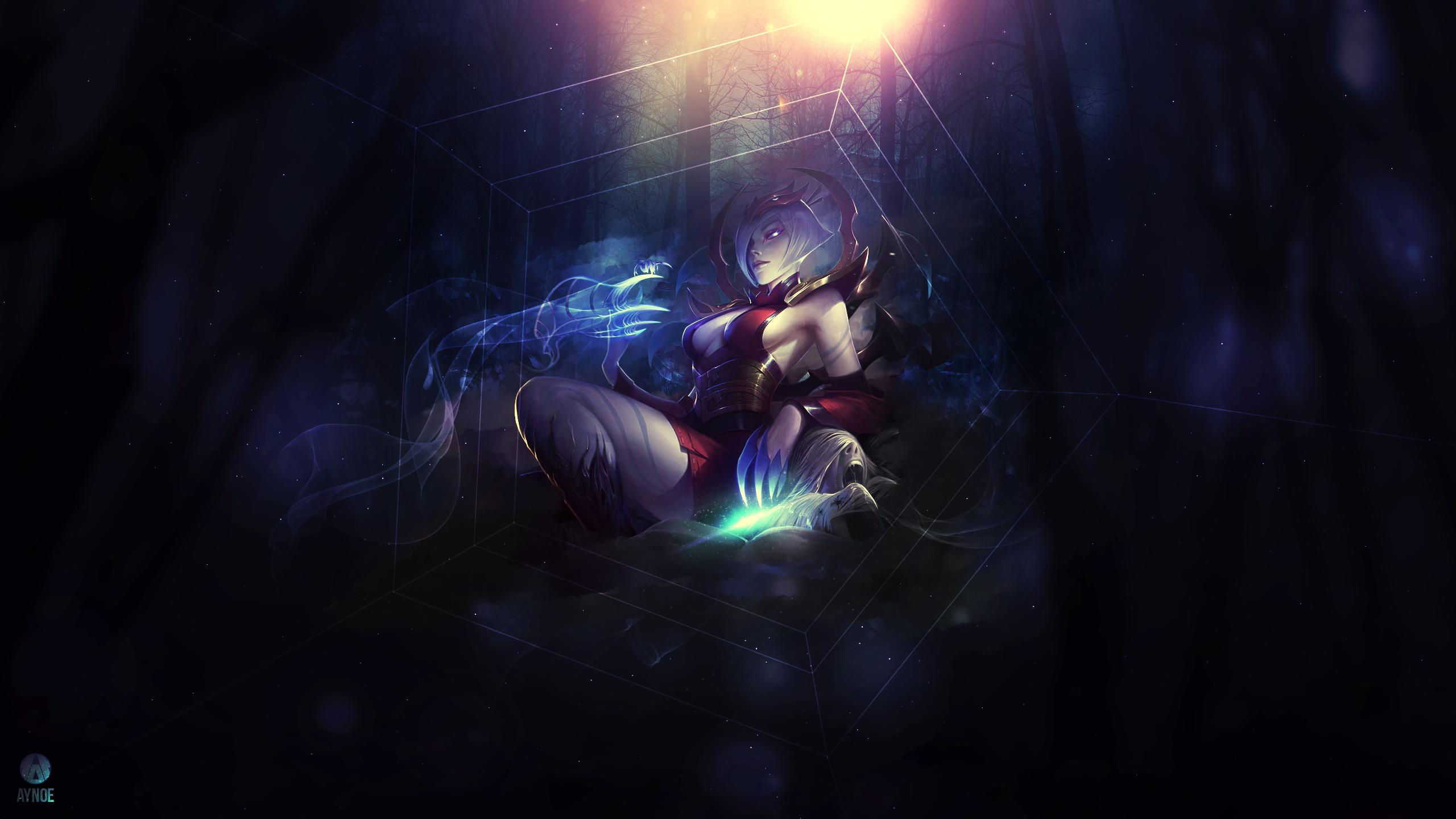 Elise ~ League of legends - Wallpaper by Aynoe on DeviantArt