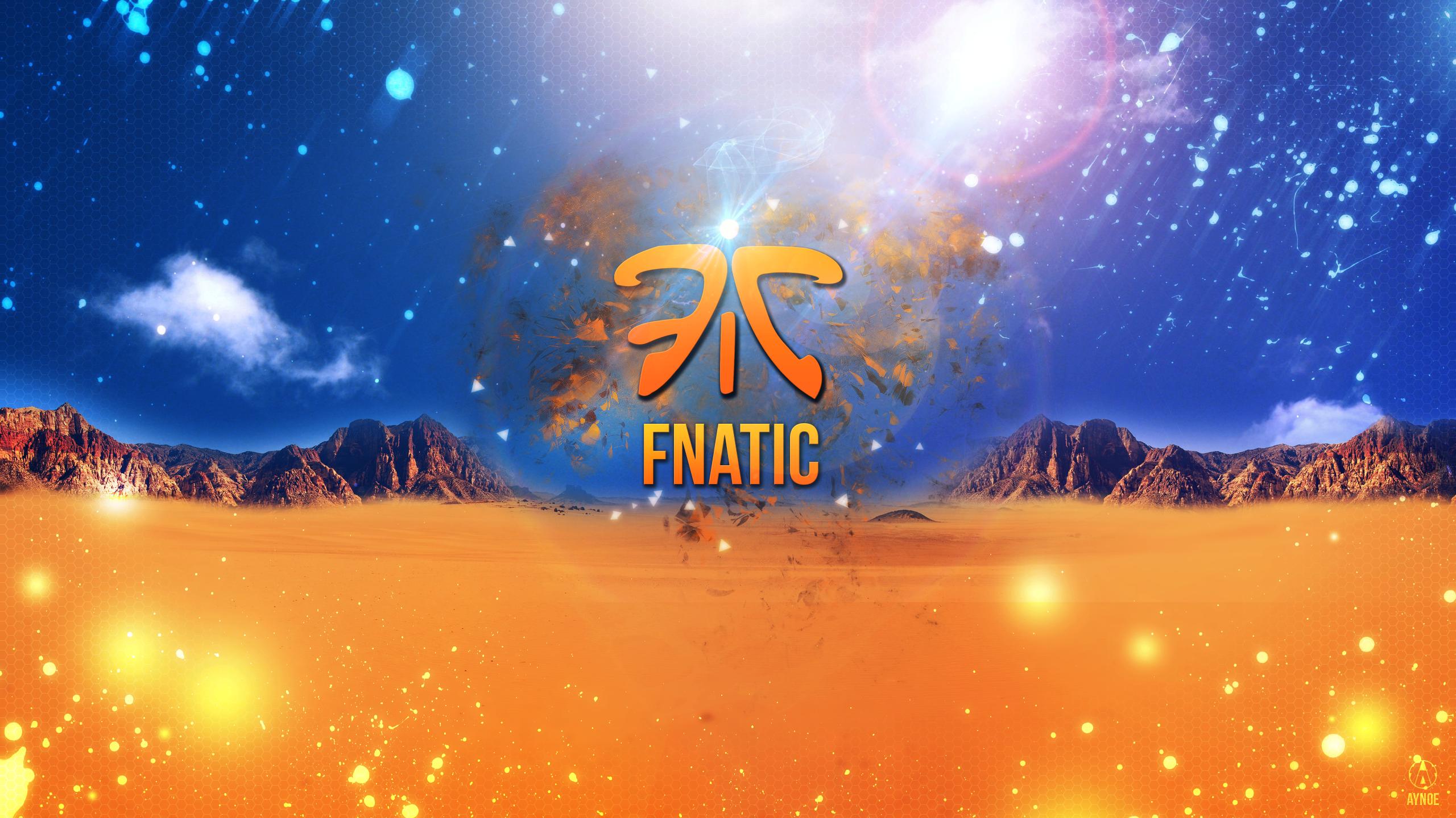 fnatic wallpaper logo league of legends by aynoe on