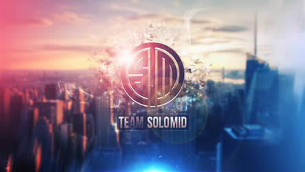 Team Solomid Wallpaper Logo - League of Legends