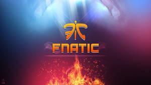 Fnatic 2.0 Wallpaper Logo - League of Legends