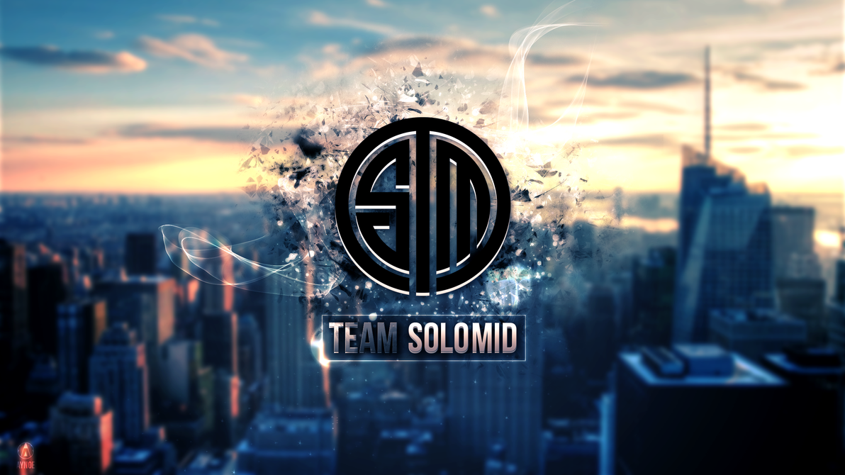 team solomid 2 wallpaper logo league of legends by aynoe