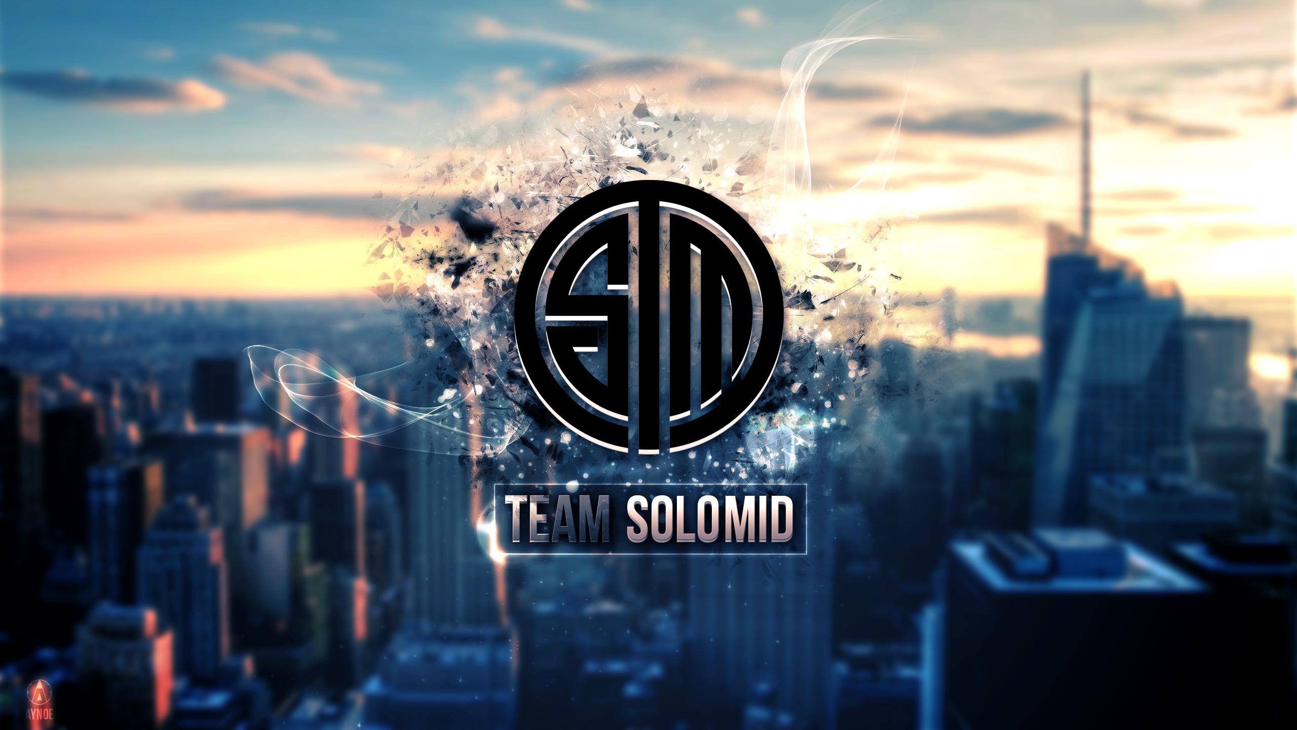 team solomid 2 wallpaper logo league of legends by aynoe
