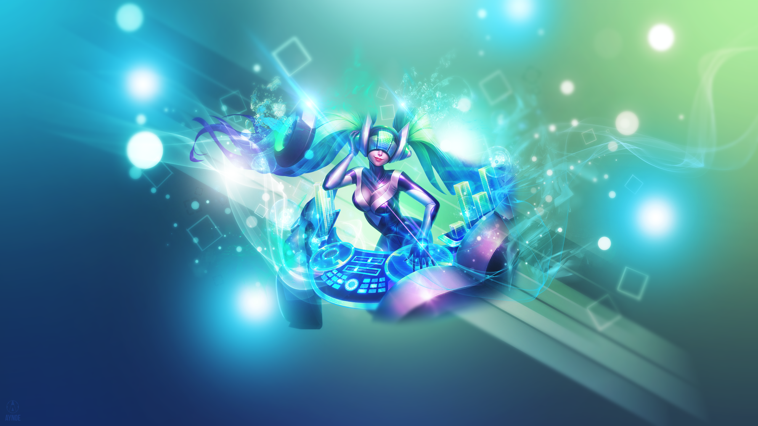 Dj Sona Kinetic League Of Legends