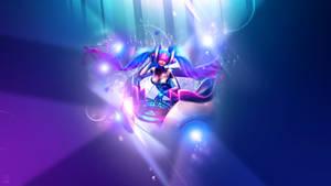 Dj Sona Ethereal ~ League of legends - Wallpaper by Aynoe