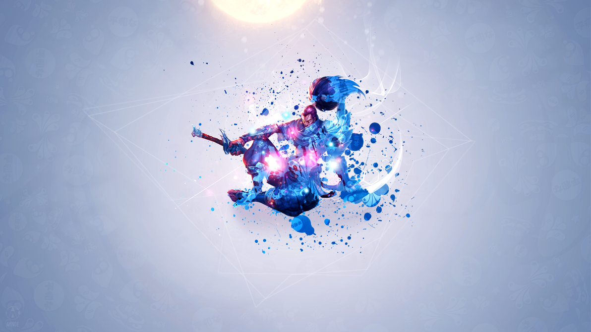 Yasuo Blue Edition League Of Legends