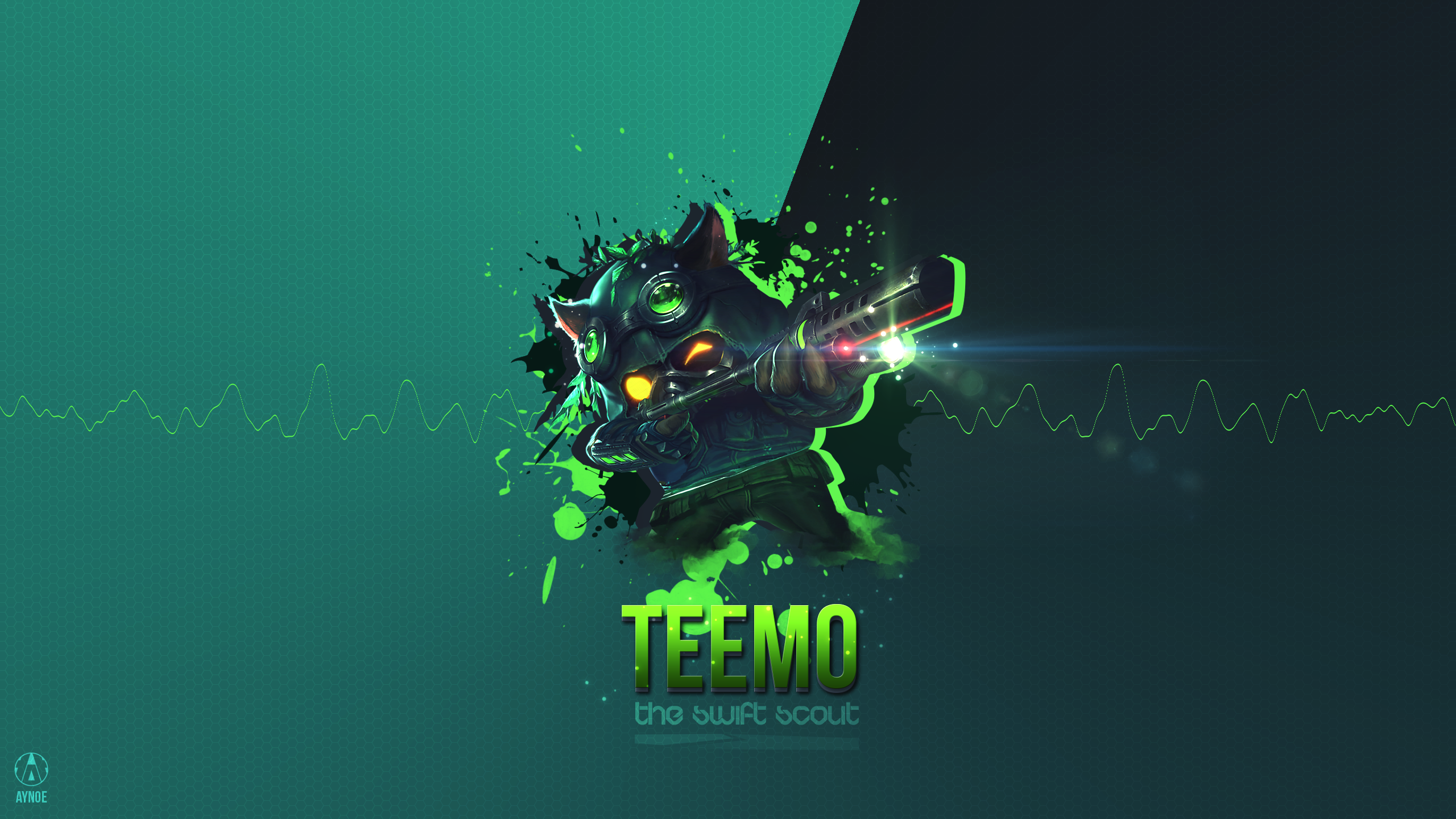Omega Squad Teemo League Of Legends Wallpaper By Aynoe On
