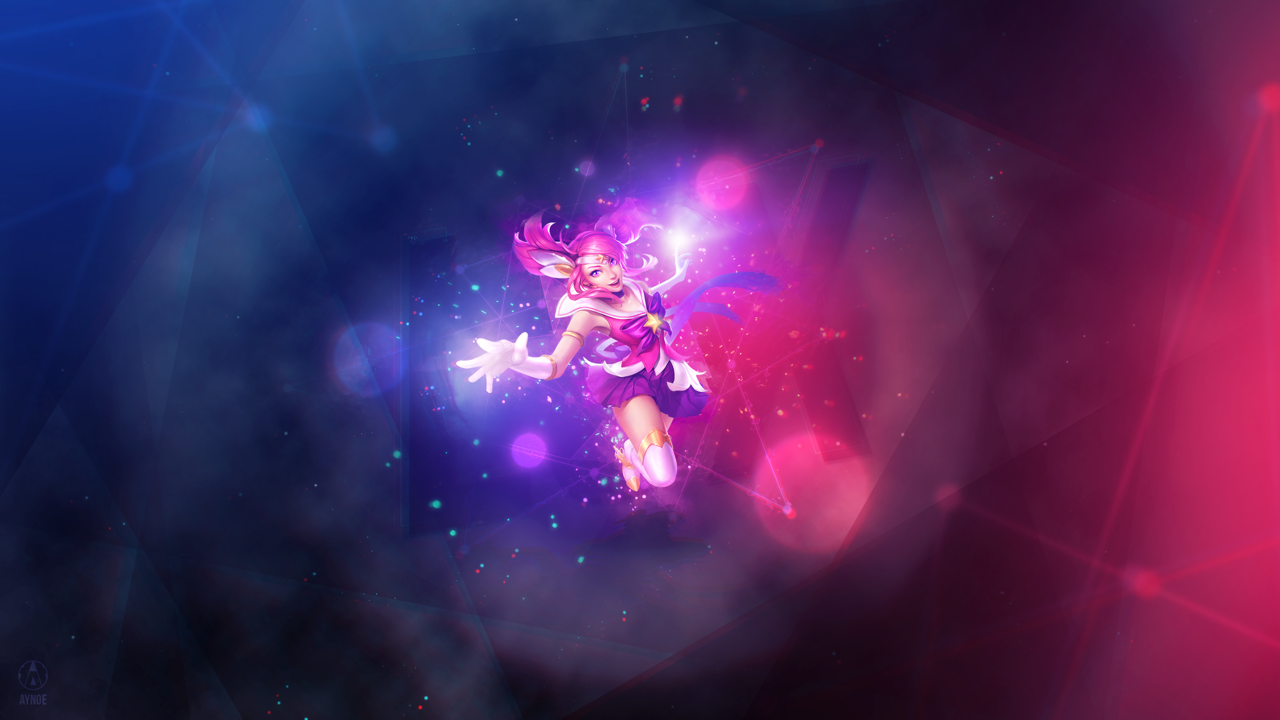 Sg Lux League Of Legends Wallpaper By Aynoe On Deviantart