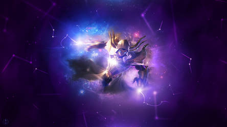 Cosmic R. Kassadin ~ League of legends - Wallpaper by Aynoe