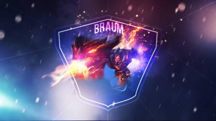 D. Slayer Braum v2 ~ League of legends - Wallpaper