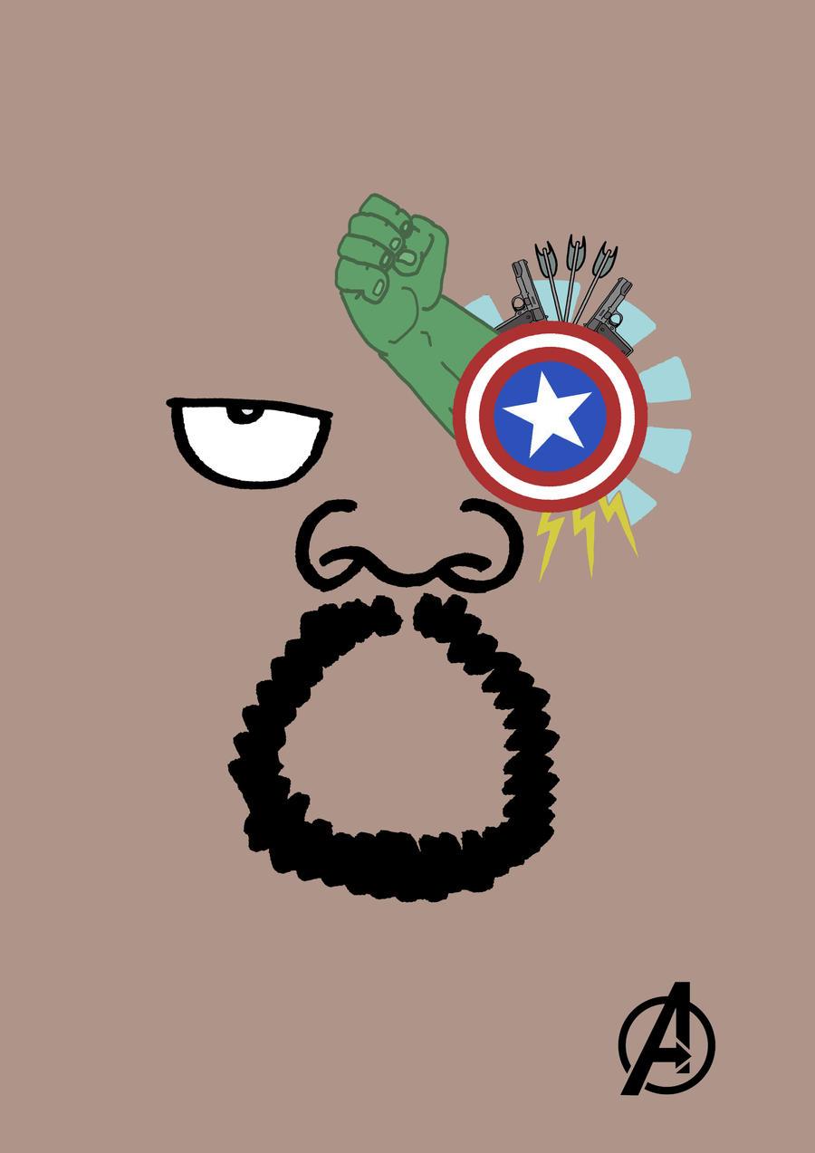 The Avengers Poster Minimalist By Jorislaquittant On