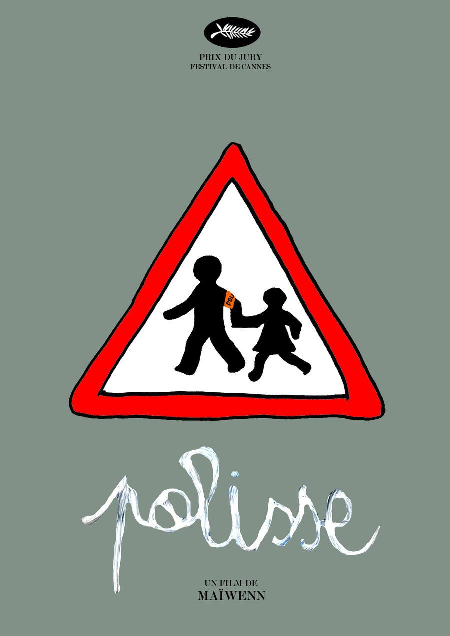 Polisse affiche minimaliste poster minimalist by for Affiche minimaliste