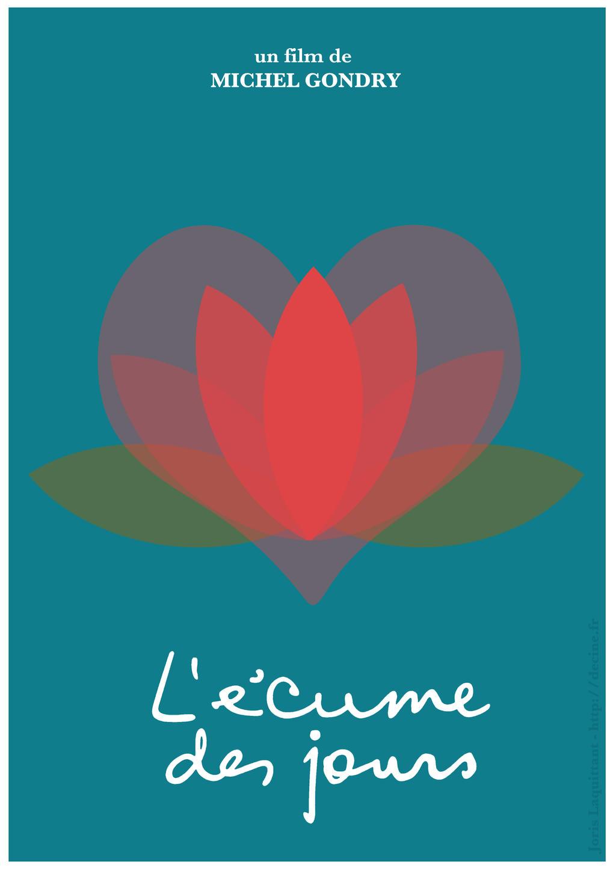 Ecume des jours affiche minimaliste by jorislaquittant for Affiche minimaliste