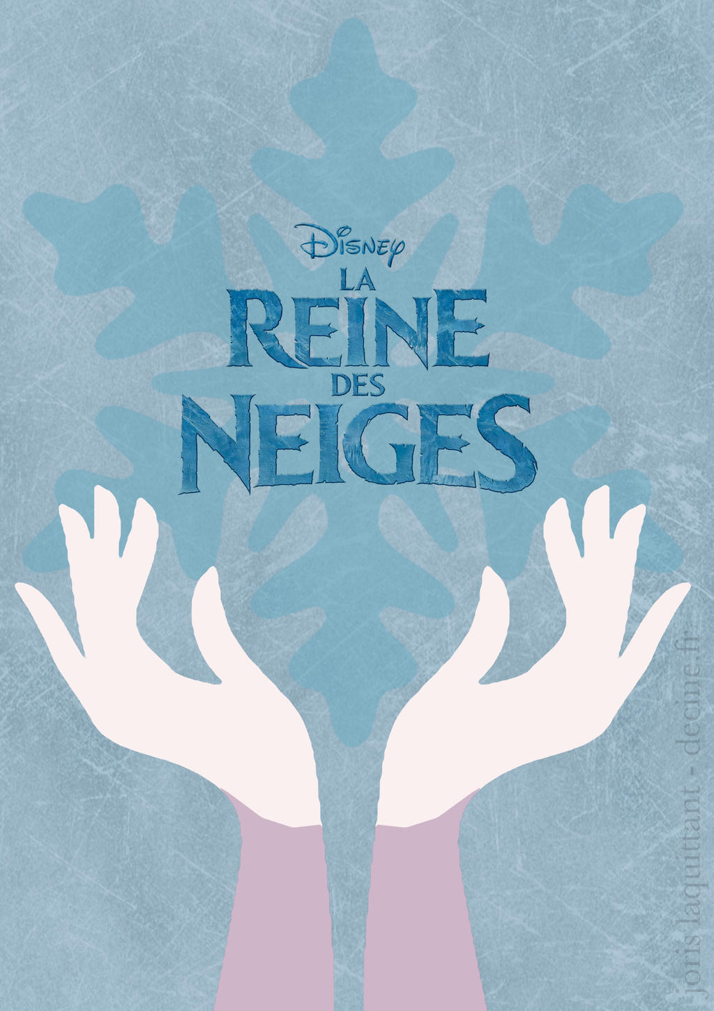 La reine des neiges affiche minimaliste by for Affiche minimaliste