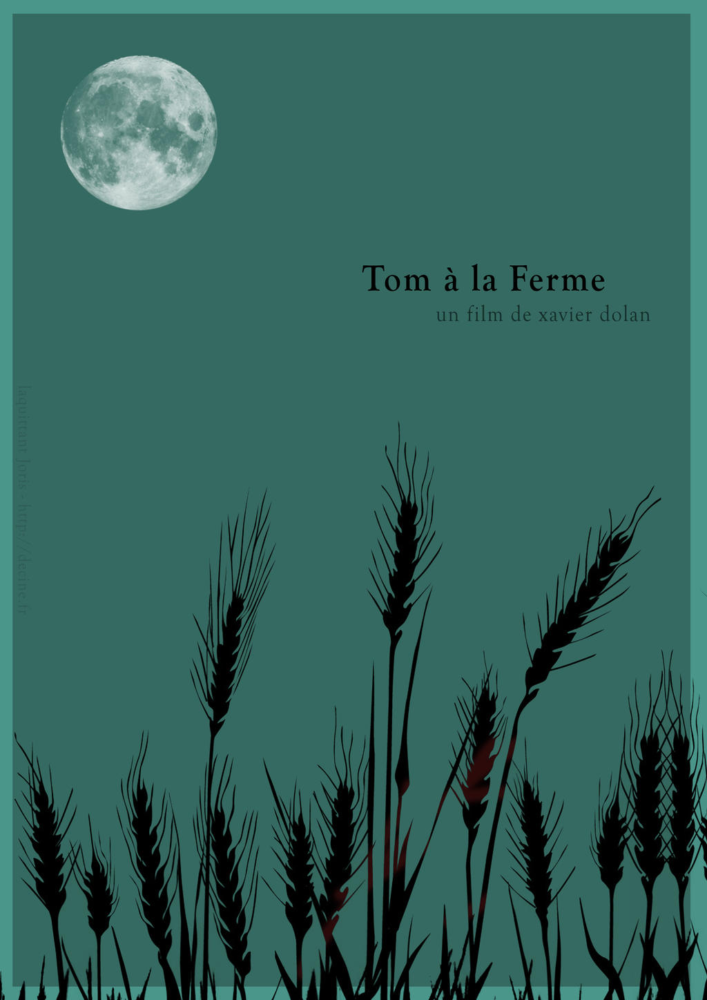 Tom a la ferme affiche minimaliste by jorislaquittant on for Affiche minimaliste