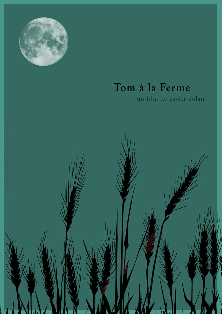 Tom a la ferme affiche minimaliste by jorislaquittant on for Foto minimaliste