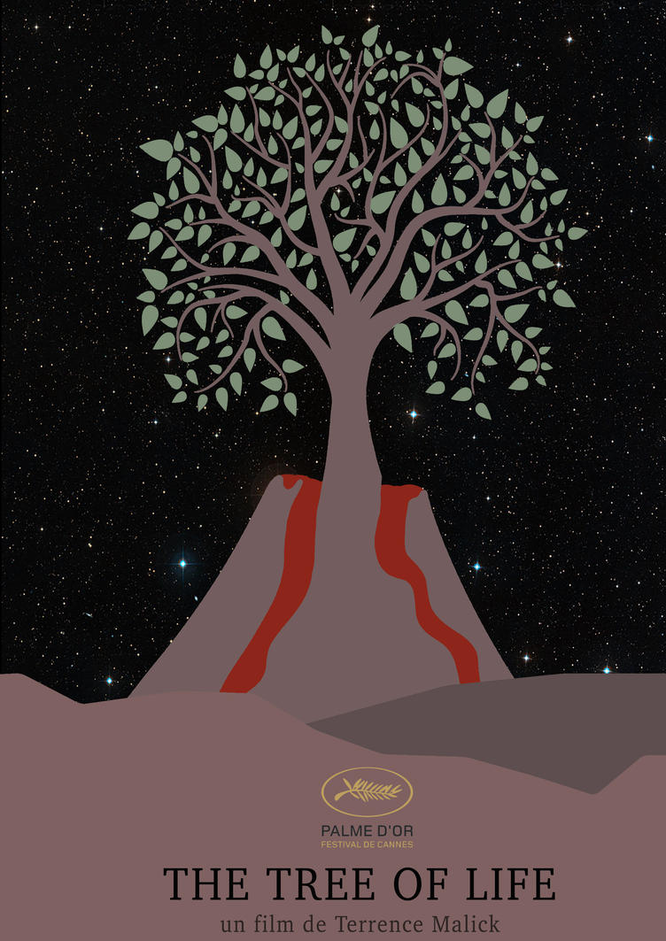 The tree of life poster minimalist by jorislaquittant on for The art of minimalist living