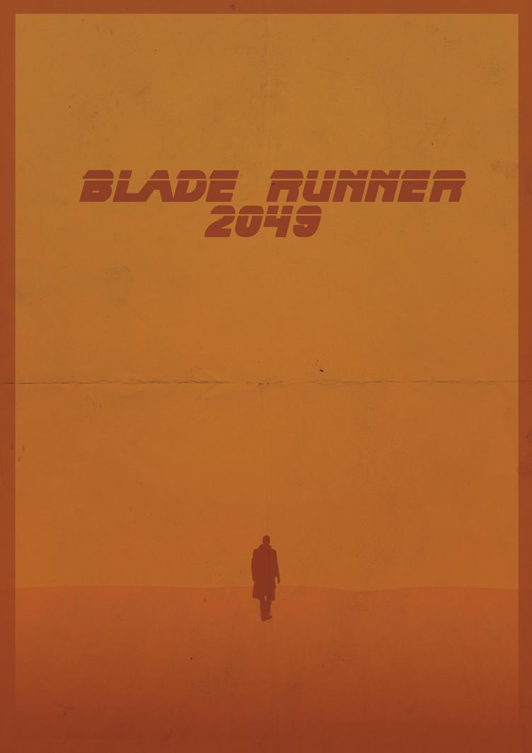 Blade Runner 2049 - Fan Poster by JorisLaquittant