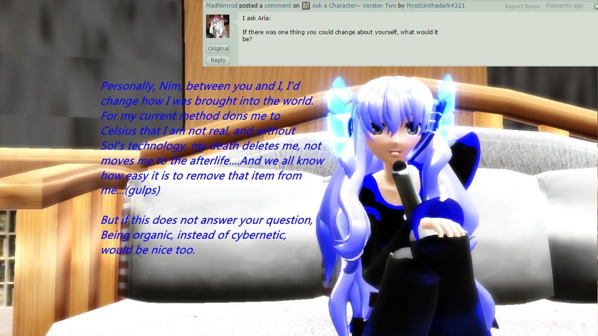 Question 1- Aria by Mysticinthedark4321
