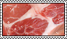 meat stamp by glitterance