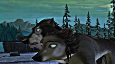 Alpha And Omega 4 The legend of the saw cave by Alpha-Claudette