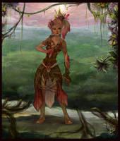 Sylvari- fan art by MotherFrost