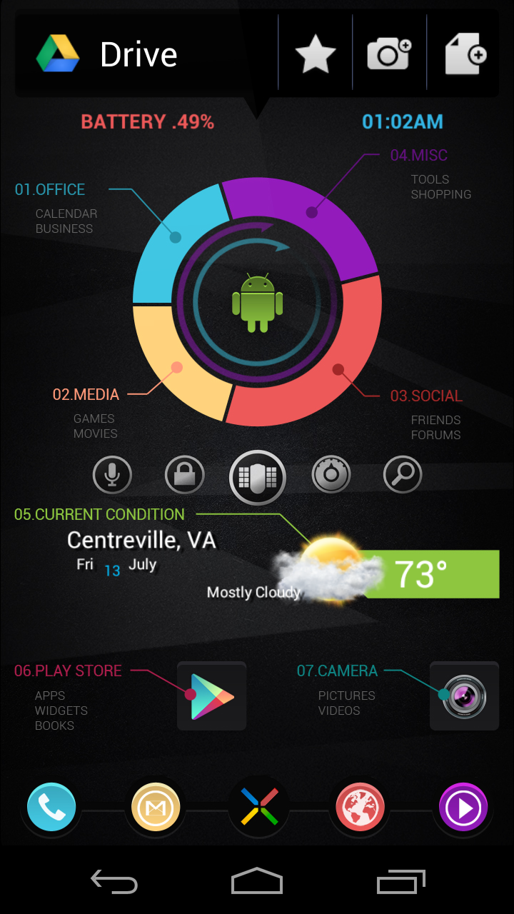 Best Galaxy Nexus Theme: MainScreen v3 by eZaCx